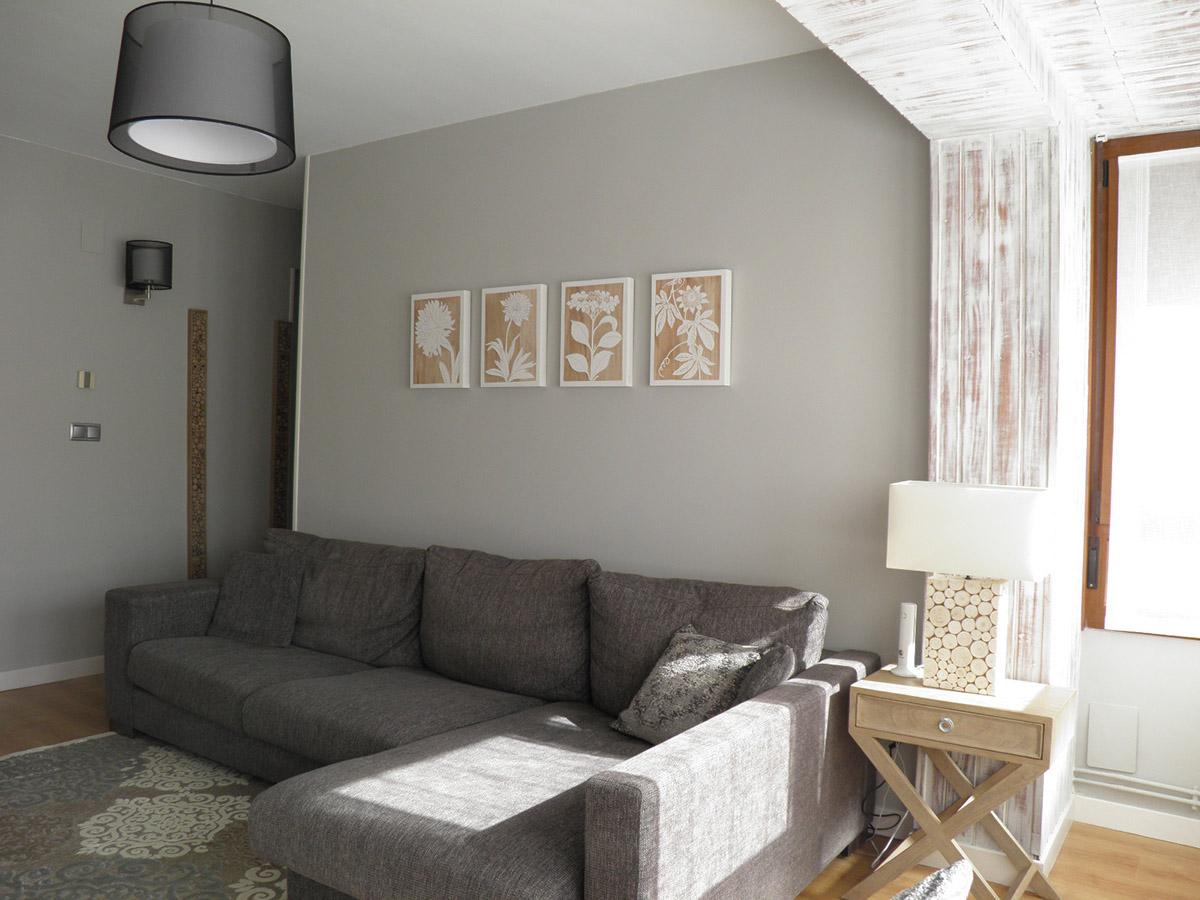 salon de color gris